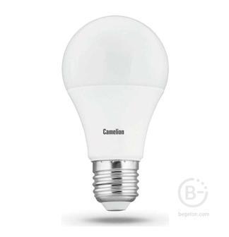 Лампа светодиодная LED11-A60/830/E27 11Вт грушевидная 3000К тепл. бел. E27 840лм 220-240В Camelion 12035