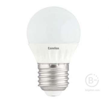 Лампа светодиодная LED3-G45/830/E27 3Вт шар 3000К тепл. бел. E27 245лм 220-240В Camelion 11374