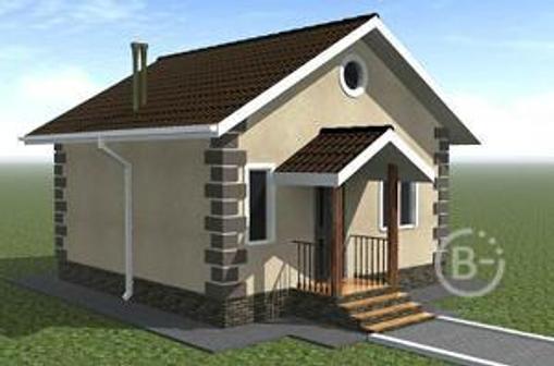 Спецпредложение! Дом площадью 46 кв.м  9900 руб/кв.м