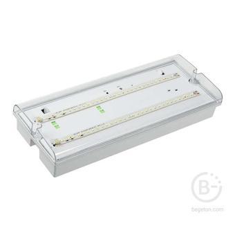 Светильник ДПА 5042-3 аккумулятор 3ч IP65 аварийный универс. подкл. ИЭК LDPA0-5042-3-65-K01