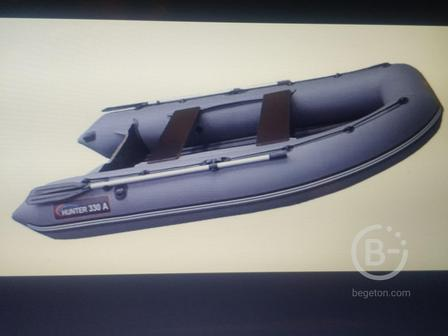 Лодка HUNTER 330A