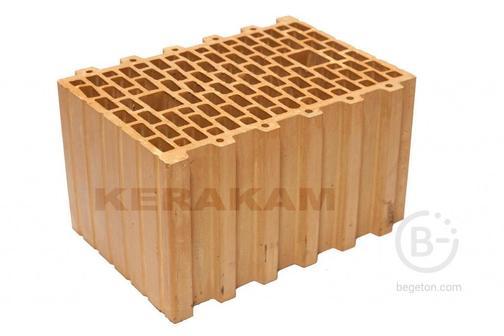 Блок керамический поризованый 260x380x219 М-150 Керакам 38 (КПТН II), 48шт., СККМ