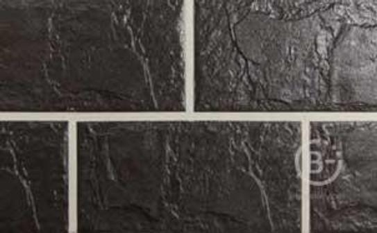 Плитка фасадная цокольная Koktebel, 300х150х8мм, Темно-коричневая, 20шт./кв.м., A.D.W.