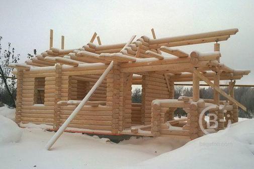 Ведется прием заказов на срубы из зимнего леса