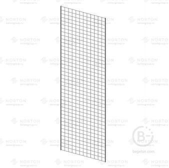 Сетка решетка торговая 2000*600