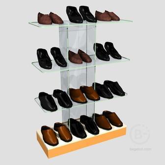 Стеллаж обувной ОС-13