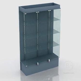 Шкаф — витрина В-803