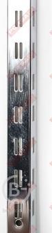 ТР Q1 (50) Стойка перфорированная BASIS, хром 2400мм