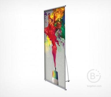 Мобильный баннерный стенд