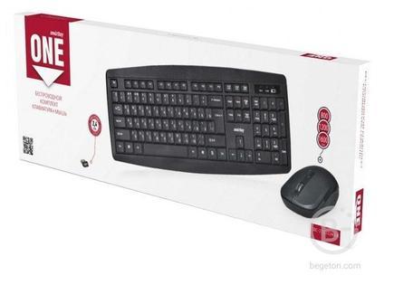 Беспроводная клавиатура и мышь в комплекте SmartBuy