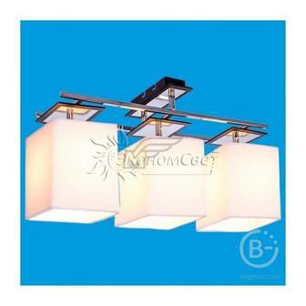 Потолочный светильник 2700/3A BK + CR WT
