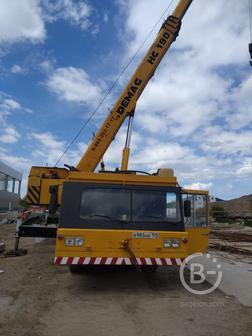 Аренда автокрана DEMAG 70 тонн 50 метров