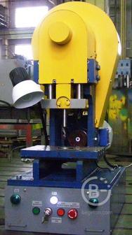 Пресс кривошипный прецизионный усилием 20 кн модель пмп-2