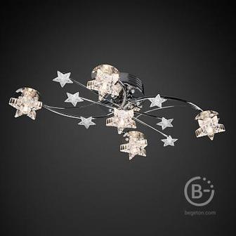 Люстра Флора 1-1770-5-CR LED Y G4