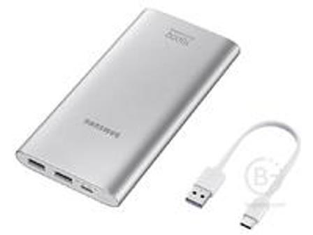 Аккумулятор Samsung EB-P1100CSRGU Li-Ion 10000 мАч серебристый