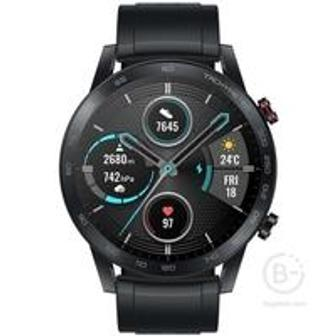 Умные часы HONOR MagicWatch 2 46mm Black (silicone strap)