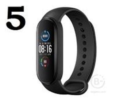 Фитнес-браслет Xiaomi Mi Band 5 (черный) Global Version