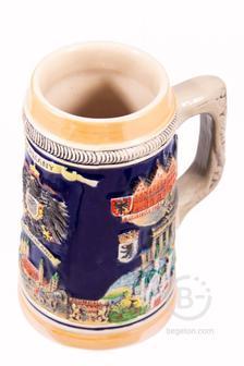 Пивная кружка коллекционная Германия 14*10*18см, 700мл 111-247