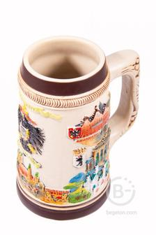Пивная кружка коллекционная Германия 15*10*18см, 700мл 111-248