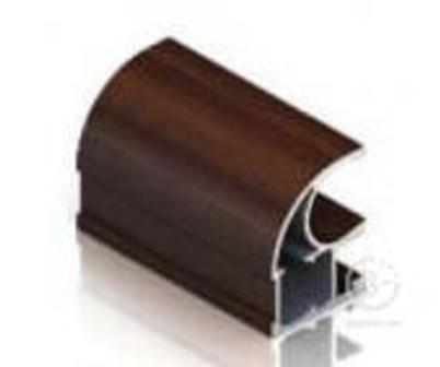 KR001 Ручка-профиль асимметричная Венге тёмный