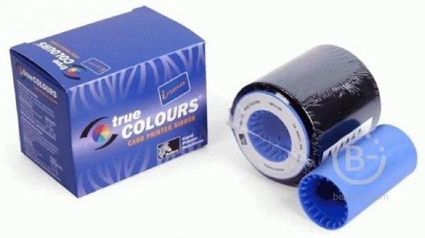 Картридж с красящей лентой (риббон) - Zebra iSeries color ribbon 5 Panel YMCKO with 1 cleaning roller, 200 images