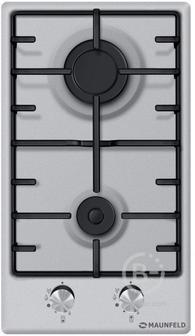 Газовая панель MAUNFELD EGHS.32.3ES - Газовая панель MAUNFELD EGHS.32.3ES/ Домино,  • Тип: газовая 30см • Тип установки: независимая • Управление: фронтальное, переключатели поворотные • Нагревательный элемент: конфорка, 2шт • Мощность конфорок, Вт: 2600,