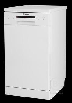 Посудомоечная машина HANSA - Посудомоечная машина HANSA/ 45 см, 6 программ, 9 комплектов, сушка горячим воздухом, А++АA, цвет белый