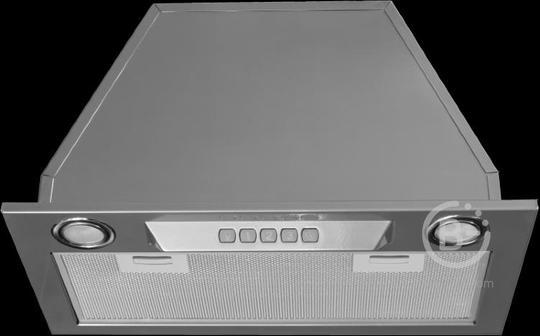 Встраиваемая вытяжка Kuppersberg - Встраиваемая вытяжка, ширина 52 см, отвод/рециркуляция, 650 м3/час, электронное управление, 3 скорости, галогенное освещение 2х20 Вт, анодированный алюминиевый жироулавливающий фильтр,таймер, угольный фильтр С6С (опция),