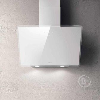 Вытяжки ELICA - Вытяжки ELICA/ Наклонная, 60см, 1200 м3, сенсорное управление, белое стекло
