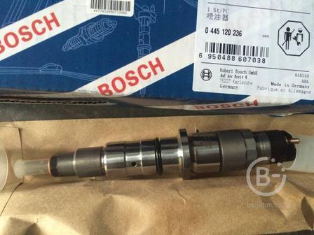 Форсунка BOSCH 0445120236 (5263308) для двигателей Cummins QSB, QSL, QSC
