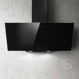Вытяжки ELICA - Вытяжки ELICA/ Наклонная, 90см, 1200 м3, сенсорное управление, черное стекло