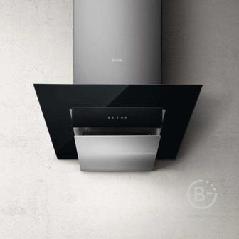 Вытяжки ELICA - Вытяжки ELICA/ Декоративный дизайн, наклонная, 60 см, сенсорное управление, 1200 куб. м. , нержавеющая сталь+черное стекло