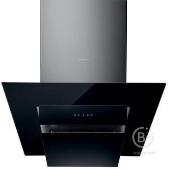 Вытяжки JET AIR - Вытяжки JET AIR/ Декоративный дизайн, наклонная, 90 см, электронное управление, 1200 куб. м. , черная