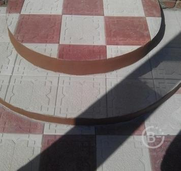 Полимерпесчаная тротуарная плитка,бордюры,водостоки,садовые ограждения