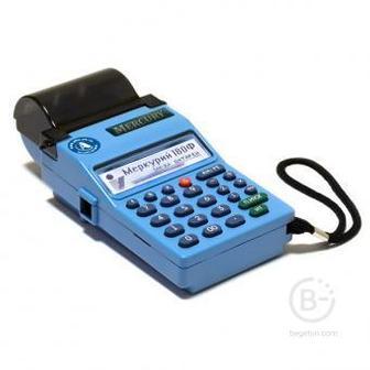 ККТ «Меркурий-180Ф» С ФН (15 мес.) (RS-232, USB, GSM, WI-FI, АКБ)