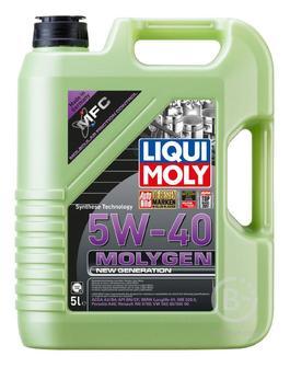 Моторное масло Liqui Moly Molygen New Generation 5W-40 5 л