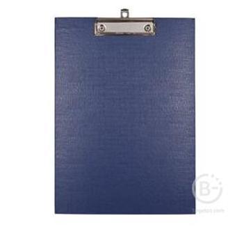 Папка-клипборд А4 ПВХ толщ.2мм синий deVENTE