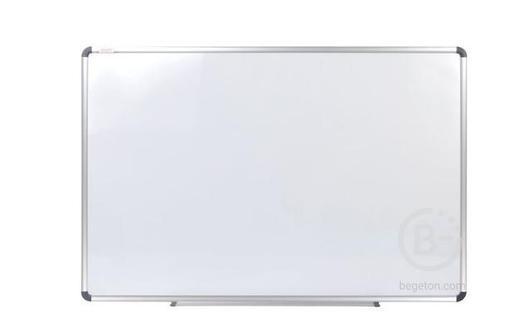 Доска магнитно-маркерная (60х90 см), алюминиевая рамка, ГАРАНТИЯ 10 ЛЕТ, STAFF