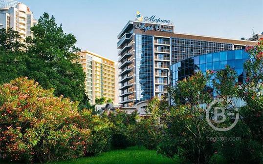 Marins Park Hotel Sochi 4* - крупный отель в центре города Сочи