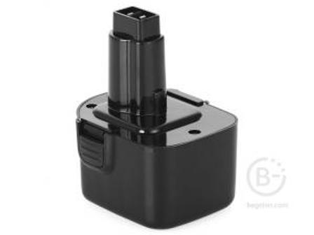 Аккумулятор Практика для DeWALT 12В, 2,0Ач, NiCd, коробка для DeWALT 12В, 2,0Ач, NiCd, коробка