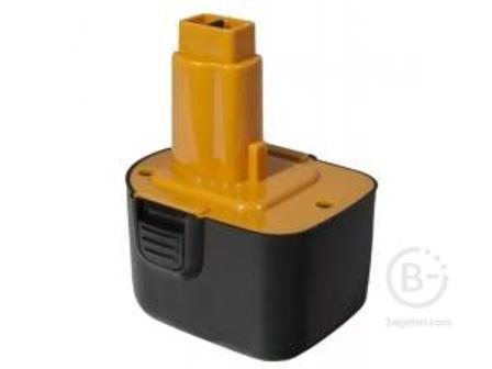 Аккумулятор Практика для DeWALT 12В, 2,0Ач, NiMH, коробка для DeWALT 12В, 2,0Ач, NiMH, коробка