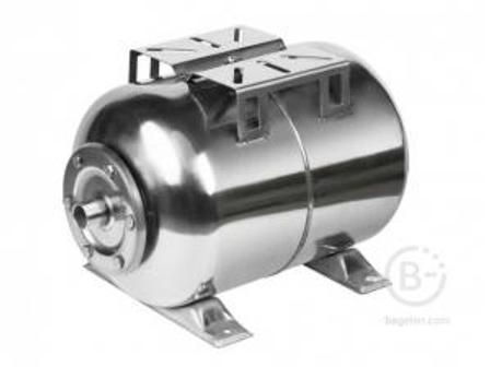 Гидроаккумулятор UNIPUMP 100л горизонт. нерж.сталь мембрана EPDM (блестящий,серый) 54872 100л горизонт. нерж.сталь мембрана EPDM (блестящий,серый) 54872