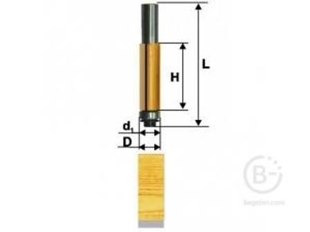 Фреза Энкор кромочная прямая (19х25.4 мм; хвостовик 8 мм) по дереву 10527 кромочная прямая (19х25.4 мм; хвостовик 8 мм) по дереву 10527