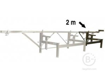 Удлинение LOGOSOL 2,0 м (коричн) F-820 для пилорамы М7 45070002000 2,0 м (коричн) F-820 для пилорамы М7 45070002000