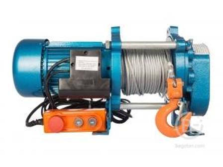 Лебедка электрическая TOR ЛЭК-1000 E21 (KCD) 1000 кг, 380 В с канатом 70 м ЛЭК-1000 E21 (KCD) 1000 кг, 380 В с канатом 70 м