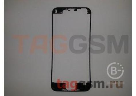 Рамка дисплея для iPhone 6 (черный) + клей