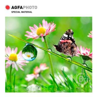 Фотобумага A4, 200 г/м2, 10л, ЗВЕЗДА,3D,глянцевая  AGFA