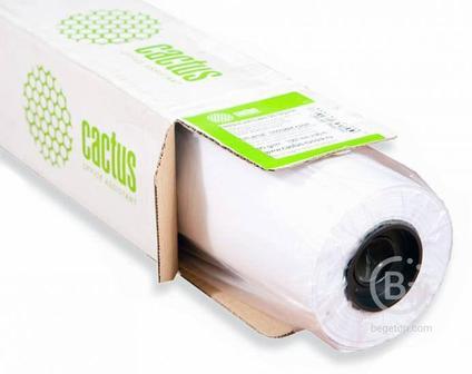 """Бумага универсальная Cactus Eco CS-LFP80-420457E A2 420 мм-45.7 м, 80г/м2, белая, втулка: 50.8 мм (2"""") (упак.:2 рул)"""