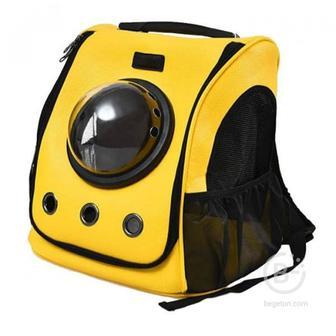 Рюкзак Переноска-рюкзак для животных Xiaomi Small Animal Star Space Capsule Shoulder Bag Yellow