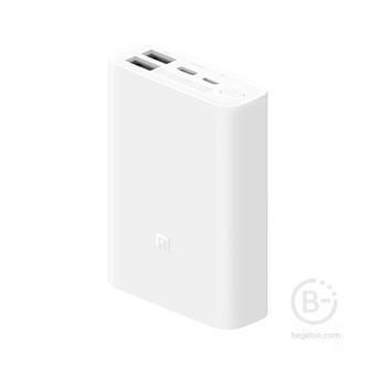 Внешний аккумулятор Внешний АКБ Xiaomi PowerBank Pocket Edition 10000mAh PB1022ZM (белый)
